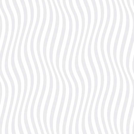 Vector seamless gray texture of waves. Isolated on white background.