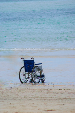 lonesome: alone wheelchair