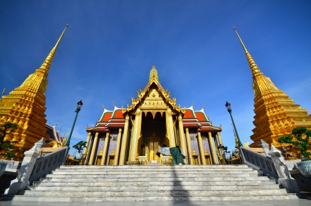 grand pa: Photo  Temple of the Emerald Buddha  Wat Phra Kaew , Bangkok Thailand  Stock Photo