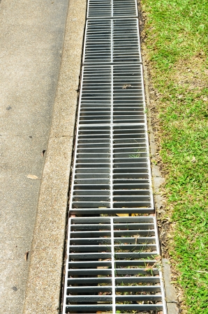 sewerage on the footpath