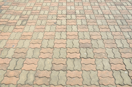 cobblestone pavement photo