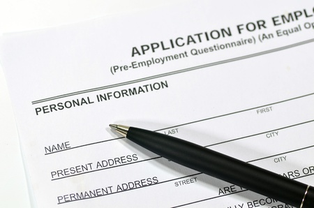 Fill in an Application form