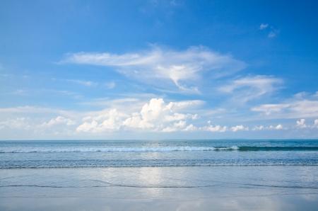 the blue sky at koh Payam , Ranong , Thailand