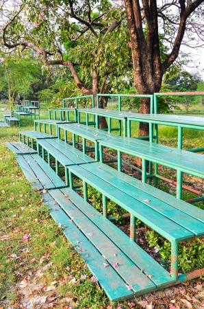 grandstand: Green Grandstand
