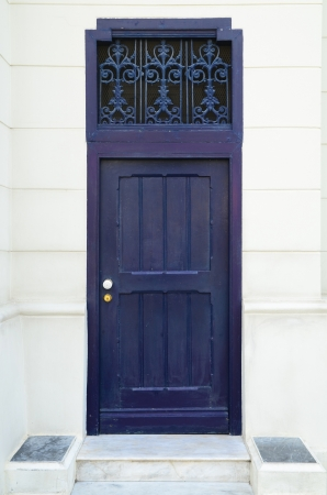 Purple door photo