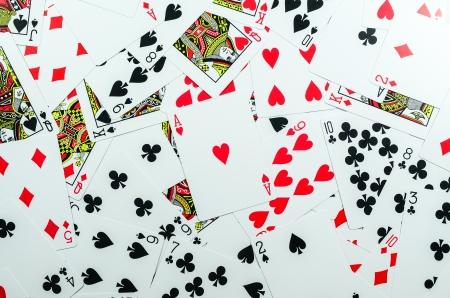 deck of cards Archivio Fotografico