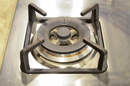 gas kitchen stove photo