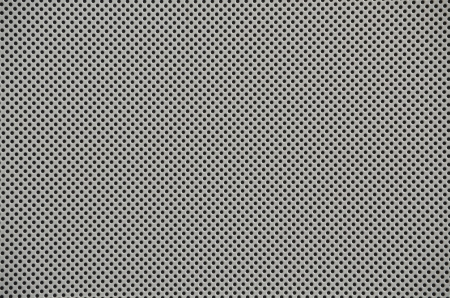 dot pattern of metal mesh filter Stock Photo
