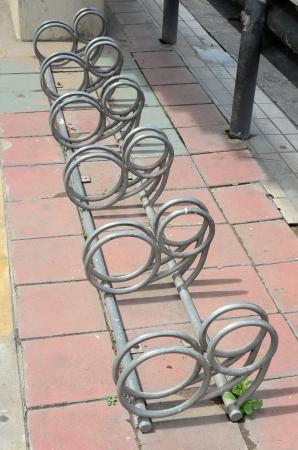 lindi: bicycle parking area
