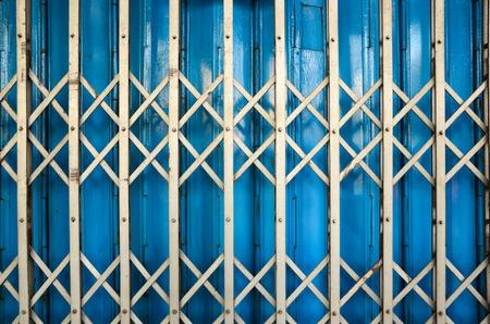 iron curtains: Old Steel door