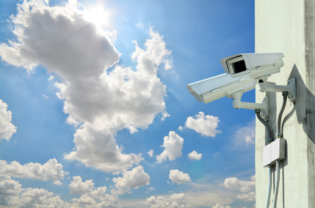 Surveillance Security Camera or CCTV photo