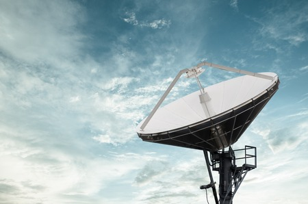 satellite tv: Satellite Dishes for telecommunication