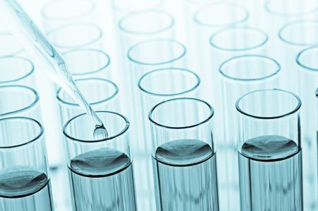 科学実験室の試験管