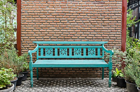 wood bench: fancy wood bench