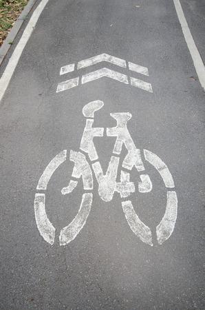 lane: sign of bike lane