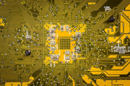 solder: lines and solder joints of the modern circuit board