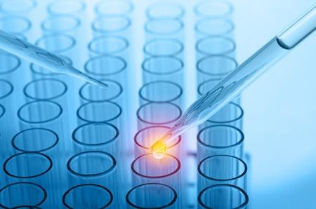 Wissenschaft Labor Reagenzgläser