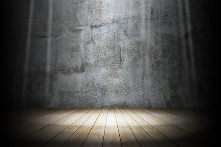 Light in dark room