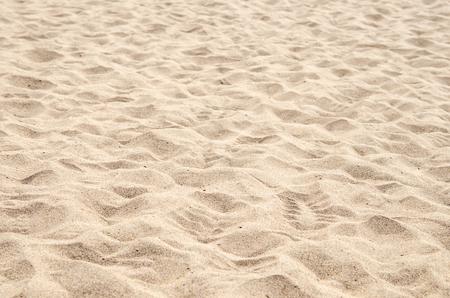Orme sulla sabbia spiaggia Archivio Fotografico - 48560343