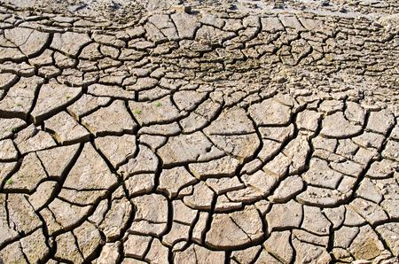 waterless: soil break texture Stock Photo