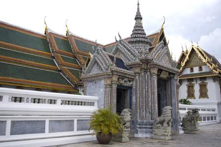 decorration: Sculpture of Wat Phra Kaeo Temple ,Bangkok ,Thailand