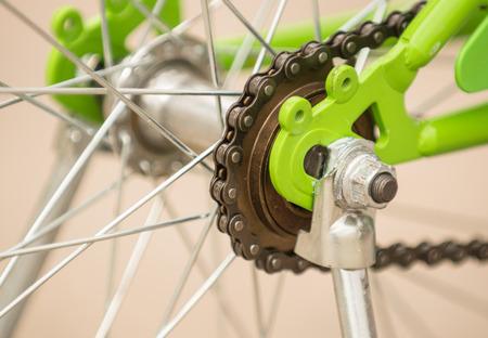 sprocket: Sprocket costruire in bicicletta bambino Archivio Fotografico