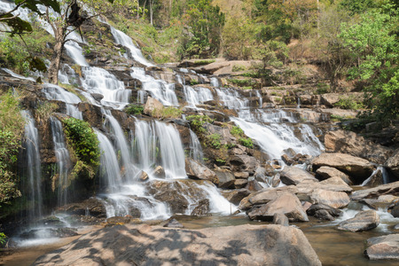 water scape: Maeya Waterfall Doi Inthanon National Park Thailand