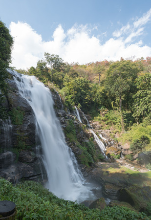 water scape: Wachirathan waterfalls, Doi Inthanon National Park Thailand