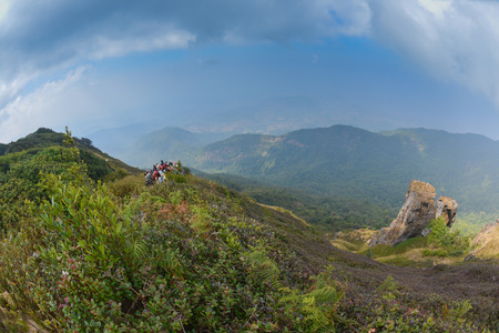 Kew mae pan nature trail at Doi Inthanon national park ,Chiangmai Thailand photo
