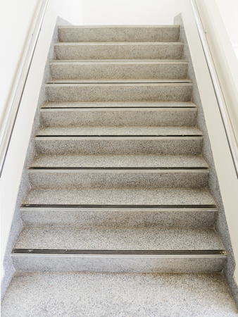 Dirty Marble Staircase For Go Up Stock Photo   42140706