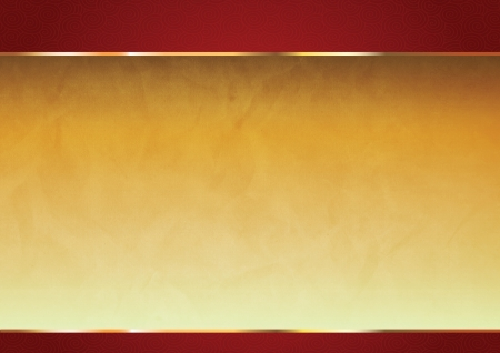 brand new: Red and gold oriental chinese background Stock Photo
