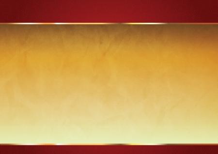 muralla china: Rojo y fondo del oro chino oriental