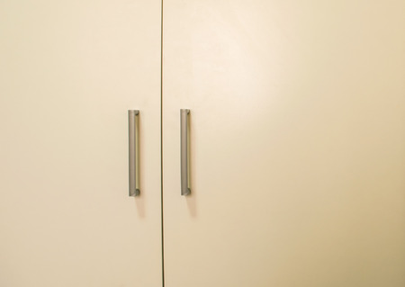 closet door: It is the closet door in the bedroom. Stock Photo