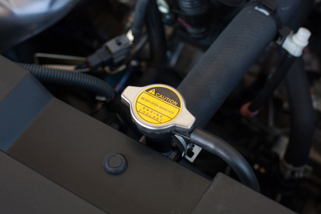 coolant system in the car 免版税图像