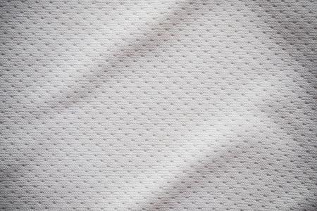 White sports jersey fabric texture background Zdjęcie Seryjne - 72636777