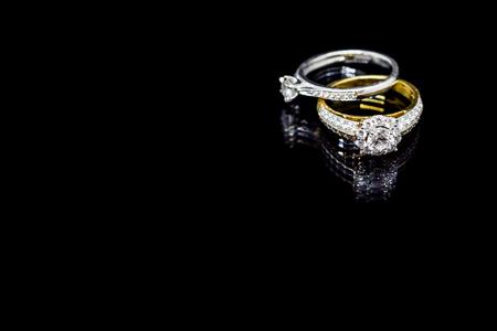 Image result for diamond ring black background