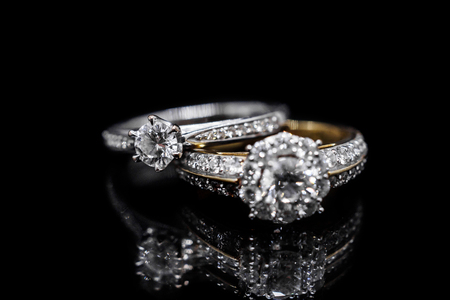 Image result for diamond ring black background