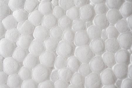 foam box texture background close up