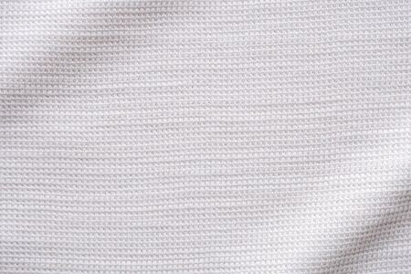 White cotton textile clothing fabric texture background