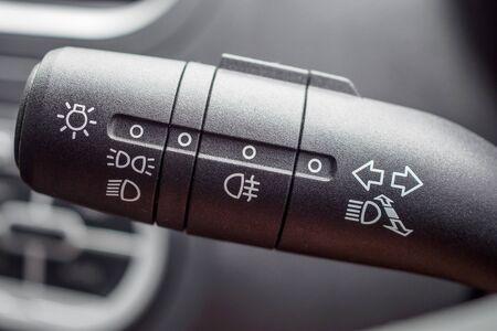 Interrupteur de commande d'éclairage de voiture se bouchent
