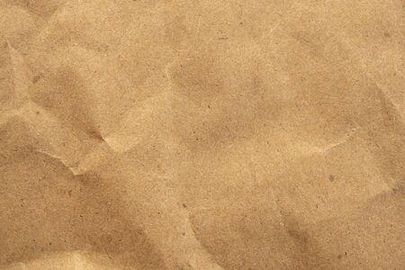 Old brown eco recycled kraft paper texture cardboard background Zdjęcie Seryjne
