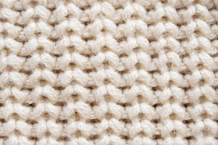 knitted wool fabric texture background