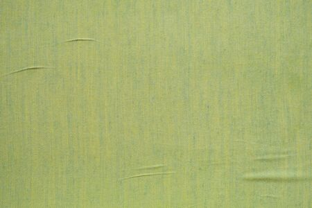 Abstract green fabric texture background