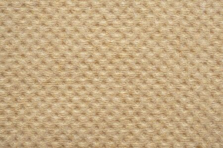 Abstract brown recycled tissue paper napkin texture background