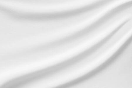 White fabric smooth texture surface background