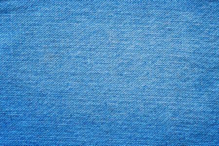 Denim blue jeans texture close up background top view Standard-Bild