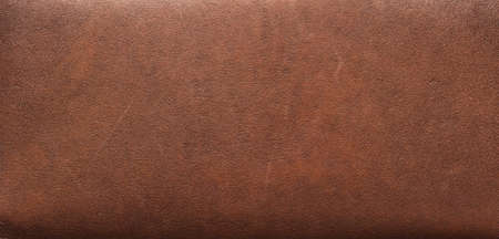Brown leather texture background close up Banque d'images