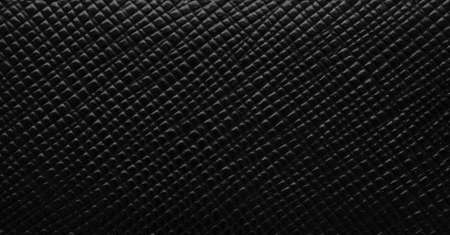Luxury black leather texture surface background