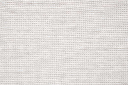 White cotton fabric cloth texture pattern background