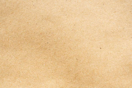 Brown paper recycled kraft sheet texture cardboard background